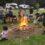 Lighting a fire of togetherness at Eketahuna Camp Ground